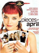 Pieces of April DVD Katie Holmes Patricia Clarkson Derek Luke Sean Hayes 2003