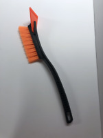 Ice Scraper with Brush for Car Windshield Snow Removal Frost Shovel Broom - Long