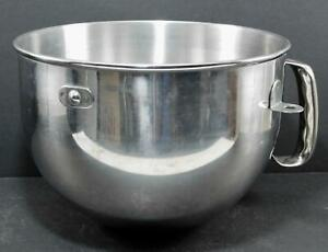 Authentic Kitchen Aid Stainless Steel Bowl 6 Qt Handle Bowl