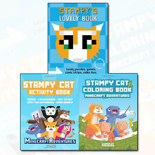 Stampy Cat Collection Adventures 3 Books Set Stampy's Lovely Book NEW