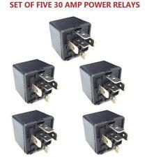 5pcs 12V Volt SPDT Relay Car Automotive Alarm 30 AMP 30A 5 Pin