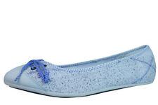 Zapatos planos de mujer gris, talla 35.5