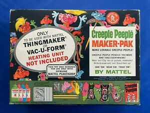 1965 Mattel Thingmaker or Vac-U-Form Creeple People Maker-Pak NO. 4472