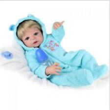 22''Handmade Lifelike Girl Baby Doll Reborn Newborn Silicone Vinyl Dolls&Clothes