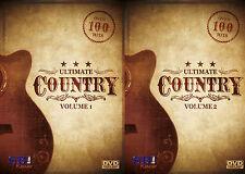 ULTIMATE COUNTRY VOL 1+2  KARAOKE COLLECTION SBI KARAOKE DVD - 225 HIT SONGS