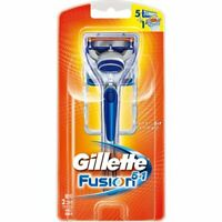 Gillette Japan Fusion Safety Razor 5+1 Holder with 2 Cartridges