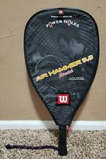Wilson Air Hammer 9.9 Tennis racquet with cover Excellent Condition!!