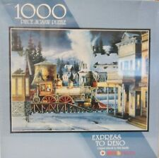 Bits & Pieces Express To Reno 1000 Piece Jigsaw Puzzle Free Ship New