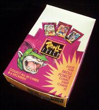 1992 STAR PICS TROLL FORCE TRADING CARD BOX 48 CT