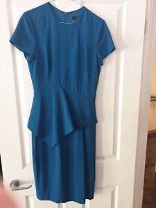 Saba Dress, Blue, Womens Size 8