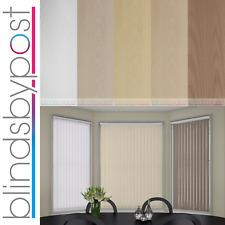 "Replacement Vertical Blind Slat 89mm (3.5"") AMSTERDAM Waterfall Design"