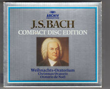Bach: Christmas Cantatas - 3 CD - Import -Box Set Mint/complete