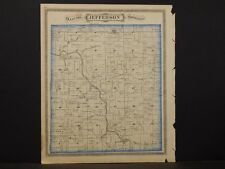 Indiana, Grant County Map, 1877, Township of Jefferson, K2#94
