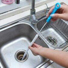 Pipe Cleaning Brush Flexible Sink Drain Cleaner Toilet Sewer Tub Tools Accessory