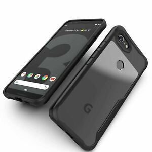 NEW Shockproof Hybrid Clear Hard Armor Tough Case Cover For Google Pixel 3 2 XL