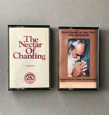 2 East Religion Cassettes-The Nectar Of Chanting Sacred Mantram for Inner Peace