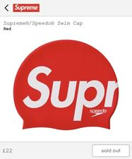 Supreme X Speedo Swim Cap Red SS20