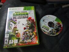 Xbox 360 Plants vs Zombies Garden Warfare Game