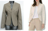 MONSOON Beige Willow Tailor Jacket Formal Casual Race Evening UK 12  EU 40