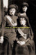 "mm378-Grand Duchesses Olga Tatiana & Maria Romanov in mourning 1916 - photo 6x4"""