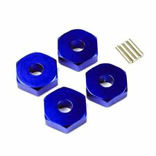 Traxxas Ford Mustang 1:16 Alloy Wheel Hex Adaptor, Blue by Atomik RC - TRX 7154