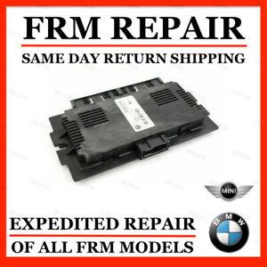 FRM FRM2 FRM3 FOOTWELL MODULE BMW MINI COOPER REPAIR SERVICE + CODING + UPDATE
