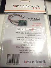 Tams LD-G-32.2 41-01422-01 Lokdecoder NEM 652  MM/DCC
