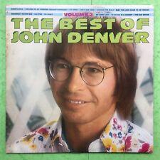 The Best Of John Denver - Volume 2 - RCA PL42120 VG+ Condition Vinyl LP