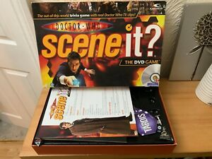 """Doctor Who"" Scene It DVD Board Game"