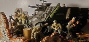 Unimax   Forces of Valor  21st Century Toy Ultimate Soldiers  diorama play set A