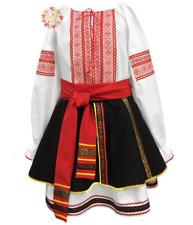 Romanian dress Moldova dance costume for girls