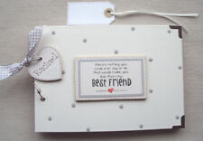 PERSONALISED..  BEST FRIEND..A5 SIZE  PHOTO ALBUM/SCRAPBOOK/MEMORY BOOK.