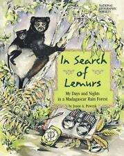 In Search of Lemurs by Joyce A. Powzyk c1998 VGC Hardcover