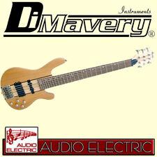 Dimavery SB-660 Wholebody 6-Saiter E-Bass mit durchgehendem Hals