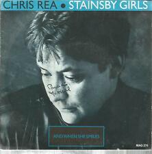 45 TOURS 2 TITRES /  CHRIS REA   STAINSBY  GIRLS     B3