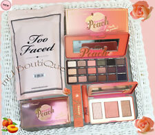 TOO FACED SWEET PEACHES & DREAMS GLOW EYESHADOW HIGHLIGHTER LIP GLOSS 3IN1 SET