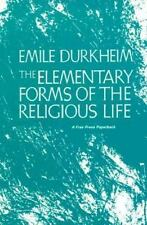The Elementary Forms of the Religious Life by Émile Durkheim (1965, Paperback)