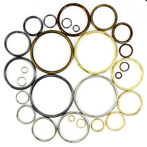 O rings metal steel straps collars craft 5 7 9 12 15 20 29 31 37 39 50 69 mm