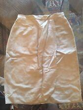 e3d20b80fd556f NWOT Cement Giorgio Armani Linen Skirt Size 42 Size 4