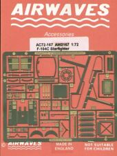 Airwaves 1/72 Lockheed F-104C Starfighter etch for Revell kit # AEC72167