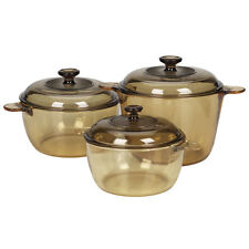 Visions corningware casserole cookpot 6pcs set made in France paypal