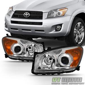 For 2009 2010 2011 2012 Toyota RAV4 RAV-4 Projector Headlights lamps Left+Right