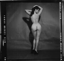 Bettie Page nude pinup 8x8 print 004