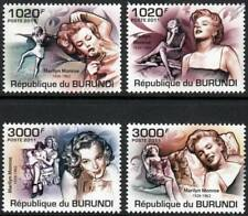 Tribute to MARILYN MONROE Stamp Set (2011 Burundi)