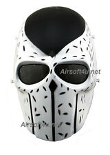 Army Full Face Wire Mesh Protection Skull Helmet Mask Cosplay