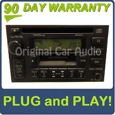 96 97 98 99 TOYOTA Solara Radio Stereo Tape Cassette CD Player 16808 Factory OEM
