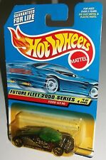 Hot Wheels 2000 Future Fleet Series #1 of 4 Ford GT-90 Black Green China 3SPs