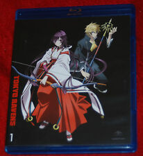 Tokyo Ravens: Season 1 - Part 1 Blu-ray ONLY 2 DISC FUNIMATION ANIME SET