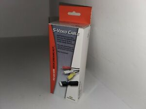 NEW S Video Cable Adapter Cord for Sega Dreamcast by Performance In BOX S-Video