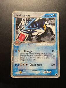 Carte Pokémon Léviator Ex Bloc Ex RF VF 109/112 - Ultra Rare - FR - Etat Played